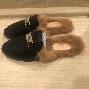 Gucci Princeton Fur Lined Mule